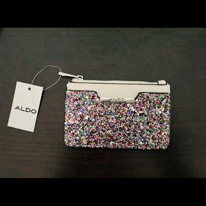 BNWT Sparkle coin purse card holder